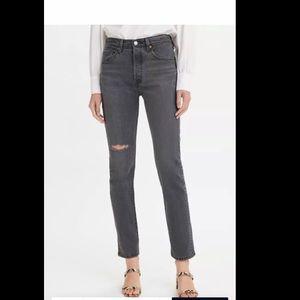 Levi's 501 Skinny Straight Jeans